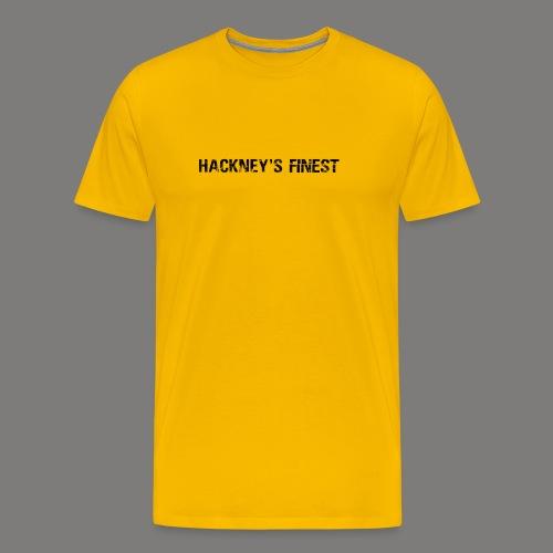 Main Titleblack png - Men's Premium T-Shirt