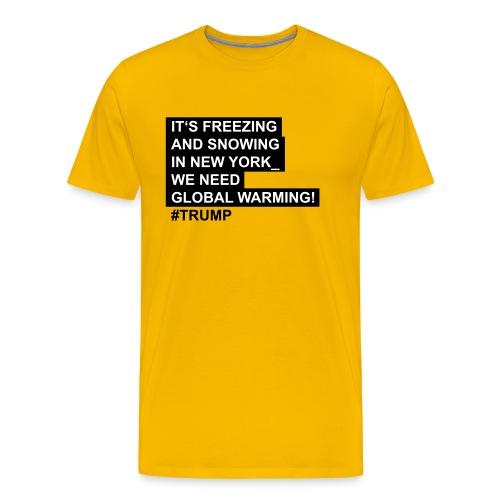 Global_warming - Männer Premium T-Shirt