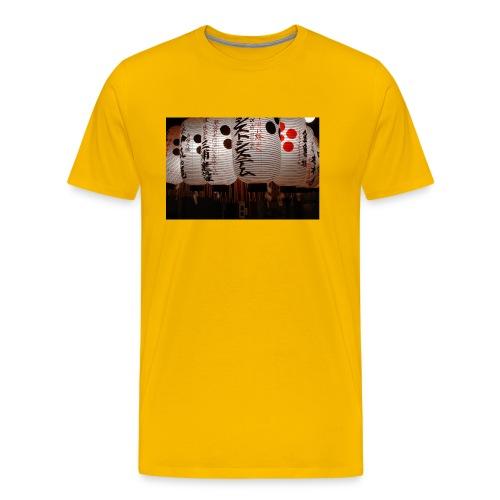 Japanische Lampions - Männer Premium T-Shirt