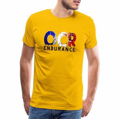 Logo OCR Endurance Noir - T-shirt Premium Homme