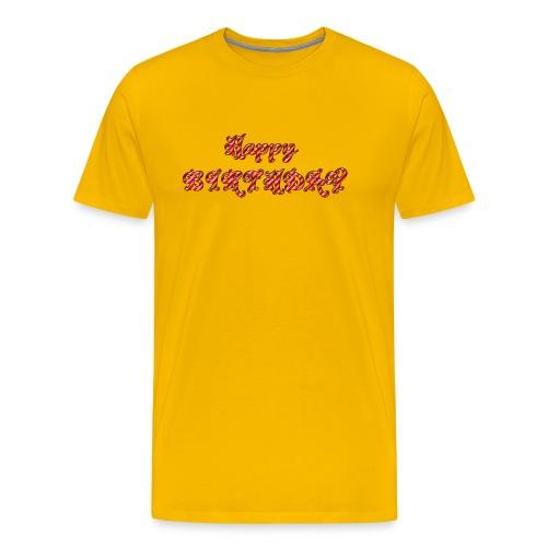 HAPPYBIRTHDAY - Männer Premium T-Shirt