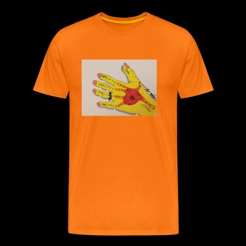 9D8D600F D04D 4BA7 B0EE 60442C72919B - Herre premium T-shirt