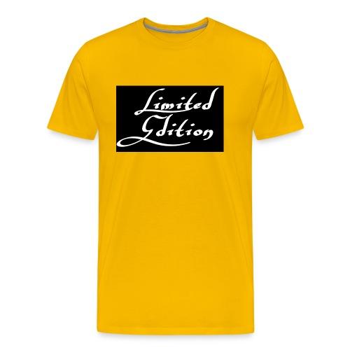 Limited edition - Miesten premium t-paita