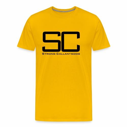 concept SC zwart png - Mannen Premium T-shirt