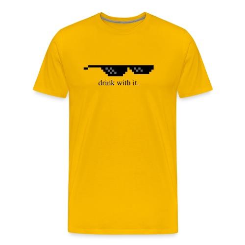 dwi png - T-shirt Premium Homme
