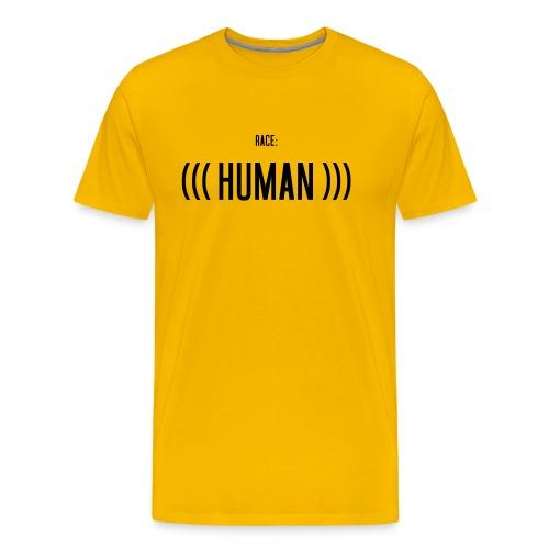 Race: (((Human))) - Männer Premium T-Shirt