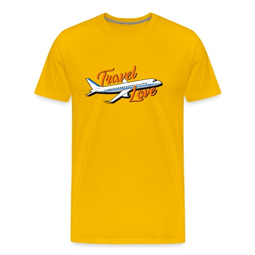 Travel love Air - Camiseta premium hombre