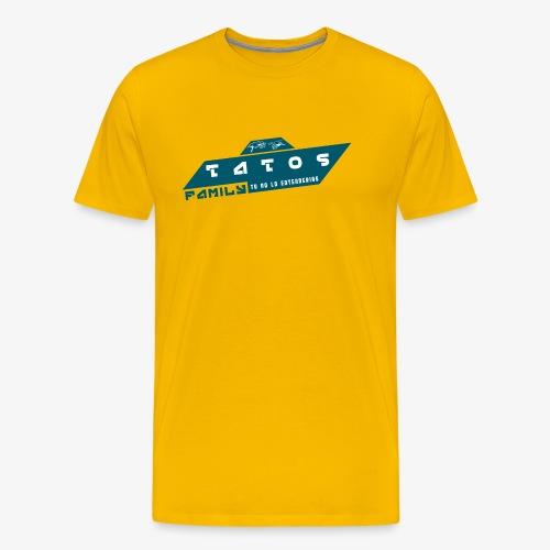 tatos family - Camiseta premium hombre