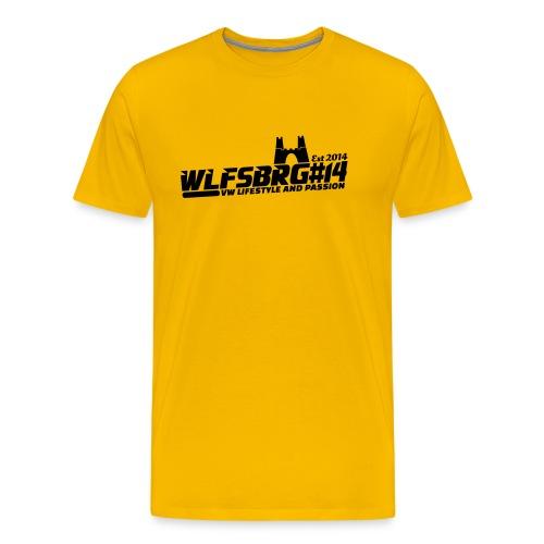2572283 16164703 wlfsbrg14 2 orig - Männer Premium T-Shirt