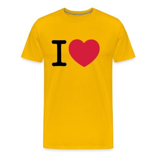 tekening - Mannen Premium T-shirt
