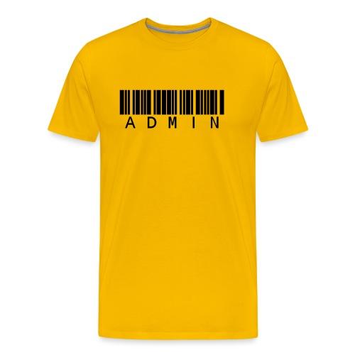 Administrator in Schwarz - Männer Premium T-Shirt