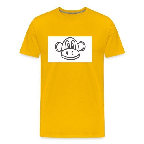 stencil2 - Herre premium T-shirt