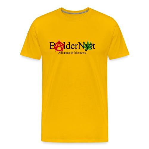 BalderNytt Logga rev 2 - Premium-T-shirt herr