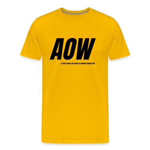 AOW 2021 - T-shirt Premium Homme