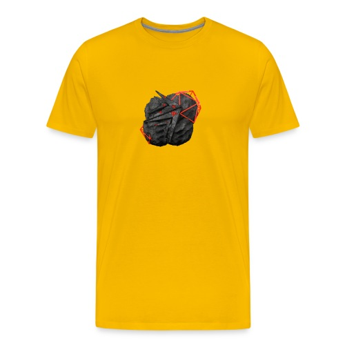 TaMiSFX's Logo with Textures - Men's Premium T-Shirt