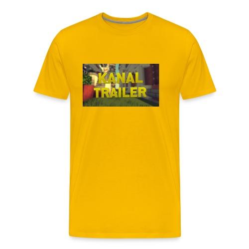 Das T-Shirt fpnder Kanal eröffnung nur für korze - Männer Premium T-Shirt