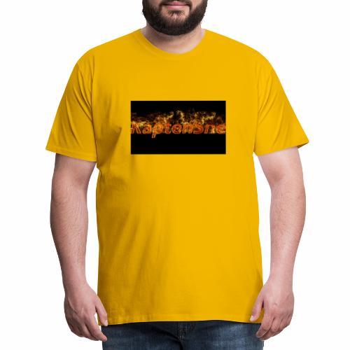 KaptenSne Burning - Premium-T-shirt herr