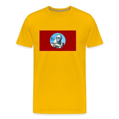 Coolrockskingen 2.0 - Premium-T-shirt herr