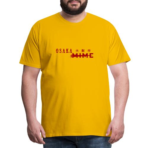 Osaka Mime Logo - Men's Premium T-Shirt