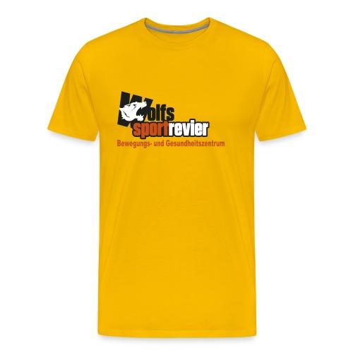 Wolfs Sportrevier - Männer Premium T-Shirt