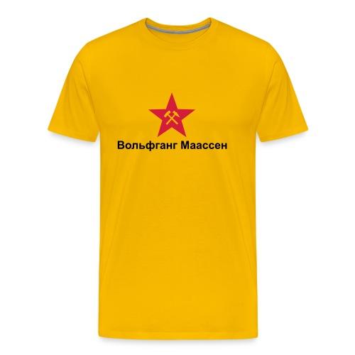 wolfgang maassen 01 - Männer Premium T-Shirt
