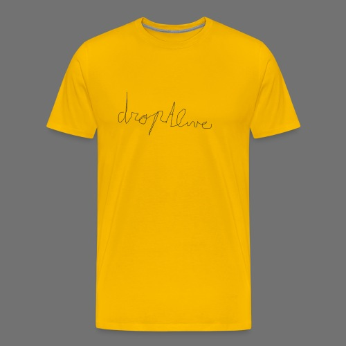 DropAlive - Mannen Premium T-shirt