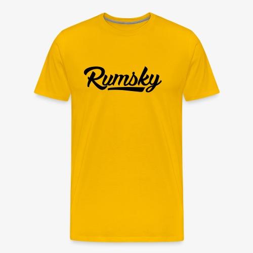 Rumsky-logo - Mannen Premium T-shirt