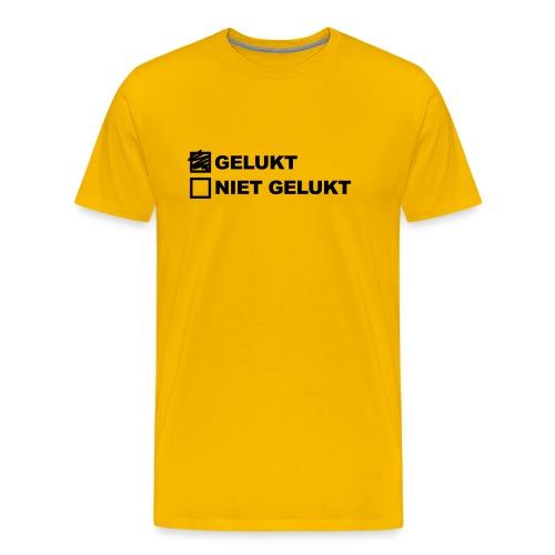 gelukt-nietgelukt - Mannen Premium T-shirt