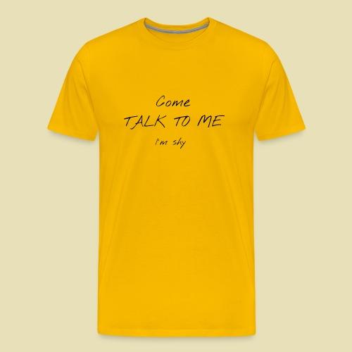 shirt face shy 1 - T-shirt Premium Homme