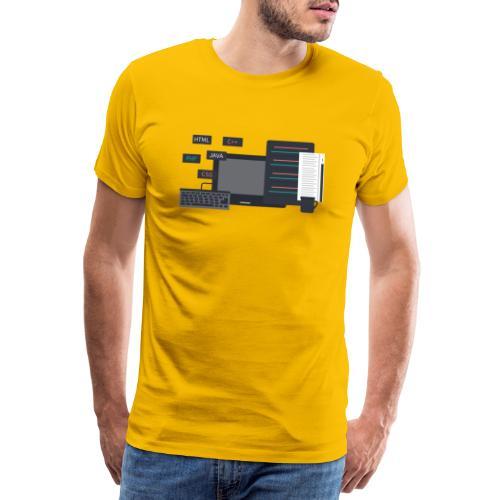 Developer set! - Koszulka męska Premium