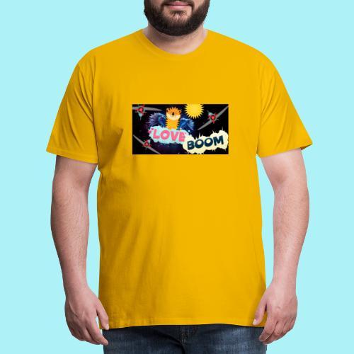 Tigre volant - T-shirt Premium Homme