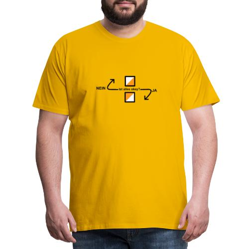 Jäspu-O - Männer Premium T-Shirt