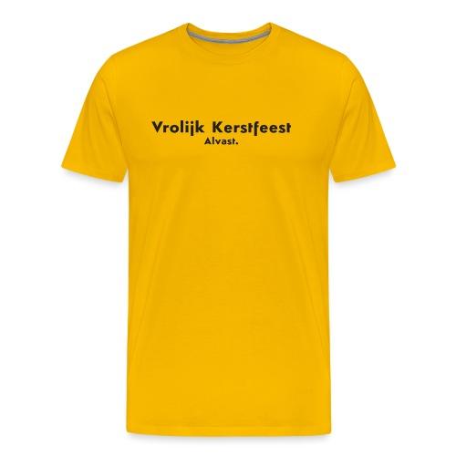 Vrolijk kerstfeest alvast - Mannen Premium T-shirt