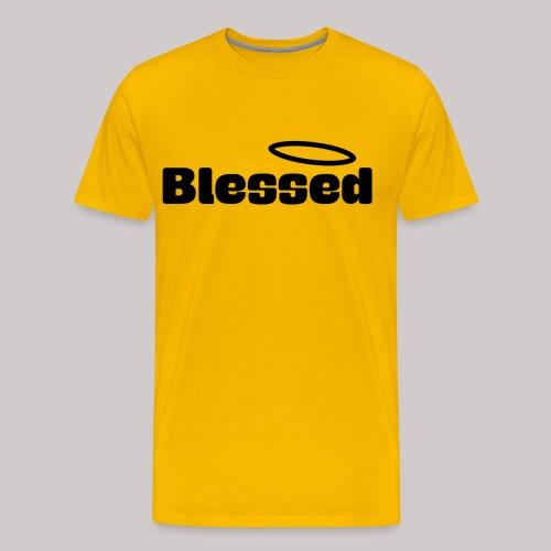Bendecido NEGRO - Camiseta premium hombre