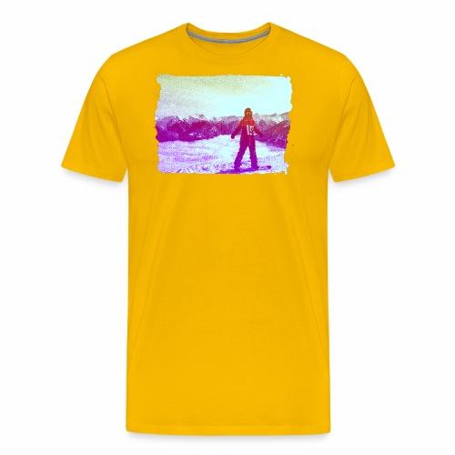 snowboarders - Men's Premium T-Shirt