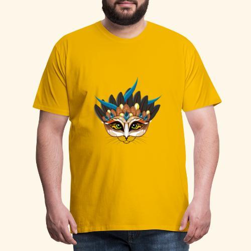 Ein Feuervogelkatzentier - einer wie keiner. - Männer Premium T-Shirt