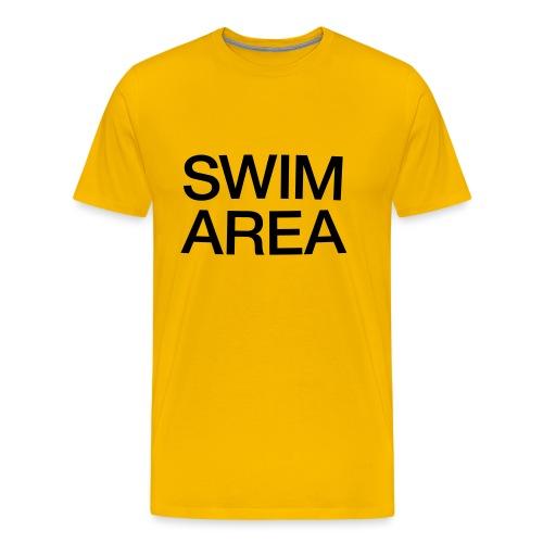 SWIM AREA - Men's Premium T-Shirt