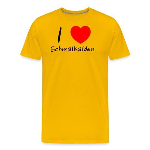 Ein Herz für Schmalkalden - Männer Premium T-Shirt