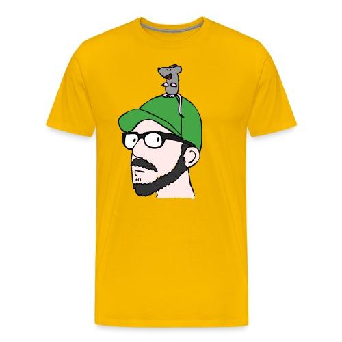 Rat Hat - Männer Premium T-Shirt