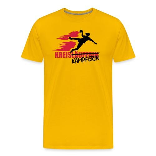 kreiskaempferin - Männer Premium T-Shirt