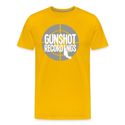 logo_gunshotrecording18 - Maglietta Premium da uomo