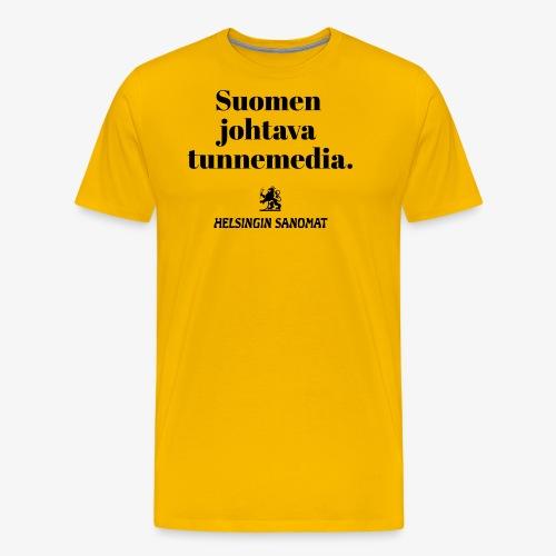 Tunnemedia - Miesten premium t-paita