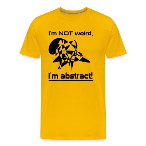 Abstract Spruch - Männer Premium T-Shirt