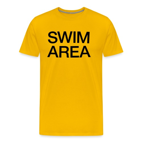 SWIM AREA - Men's Premium T-Shirt