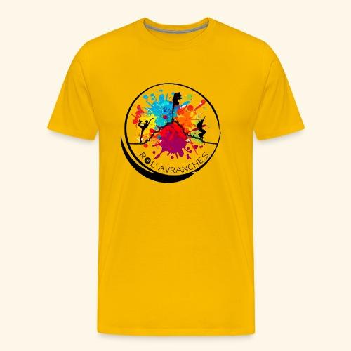 Logo Transparent Av+Ar - T-shirt Premium Homme
