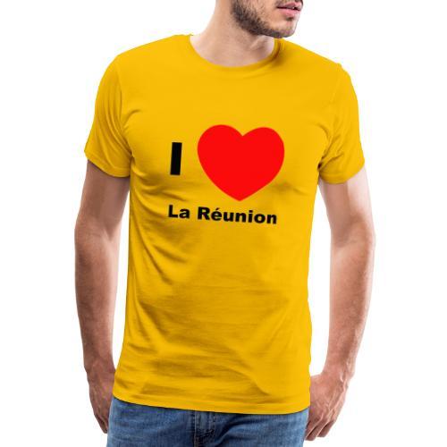 i love la réunion - T-shirt Premium Homme