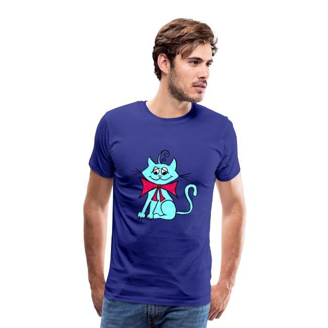 Katze blau