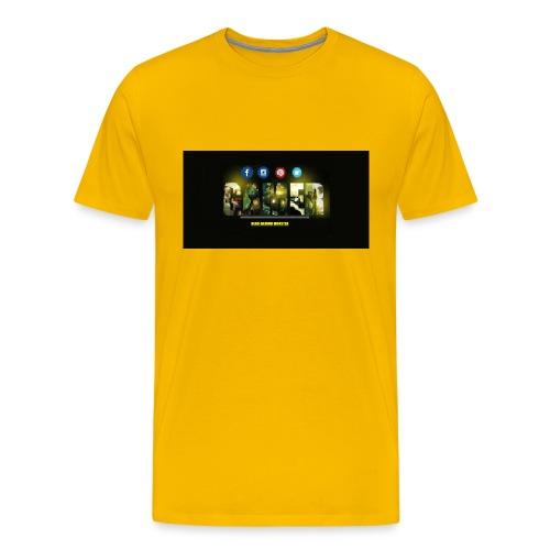 nerd gaming monster jpg - Men's Premium T-Shirt