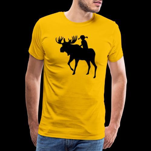 Mooserider Swedish Fika - Premium-T-shirt herr