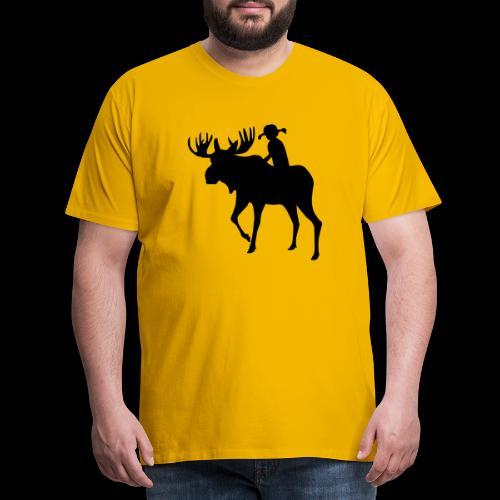 Mooserider BSA Jamboree 2017 - Premium-T-shirt herr